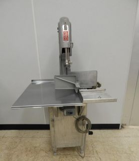 Biro Model 22 Belt Driven Meat Saw Single Phase