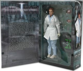 "Sideshow Toys 12"" Autopsy Dana Scully Figure x Files 7808 2500 1 6 Scale New"