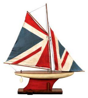 Union Jack Pond Model Yacht ID 43042