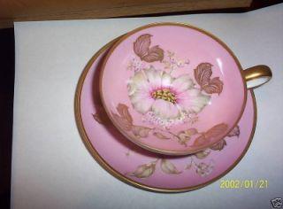 Vintage Bavaria Germany China 3 Piece Tea Cup Set