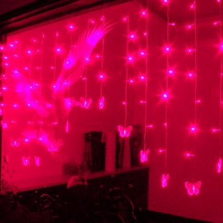 LED Backdrop Decorative Party Lights Christmas or Wedding Butterfly Lights