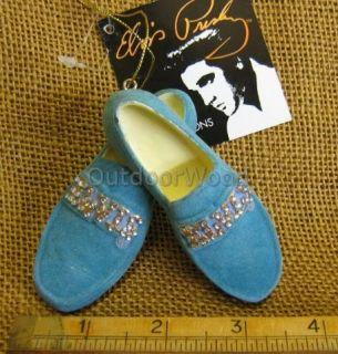 Kurt Adler Elvis Presley Blue Suede Shoes Ornament