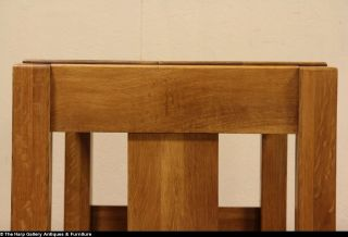 Arts Crafts Mission Oak 1905 Antique Library Table Writing Desk Signed Joerns