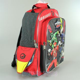 """12"""" Power Rangers RPM Small Toddler Backpack Book Bag Boys Red Green Blue"""