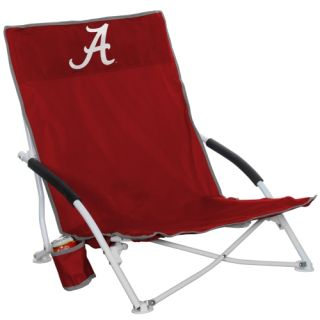 Alabama Crimson Tide Logo Beach Chair Crimson