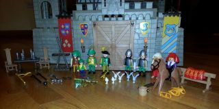 Playmobil Kings Large Medieval Castle 3666 Excellent Retired Must See