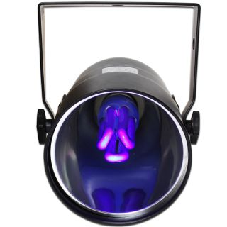 2X Ibiza UV Blacklight Par 38 Can Light DJ Disco Party Club Lighting Effect Unit