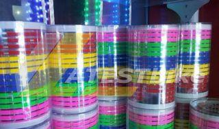80 19cm Car Sound Music Activated Stickers Equalizer Glow 12V LED Light
