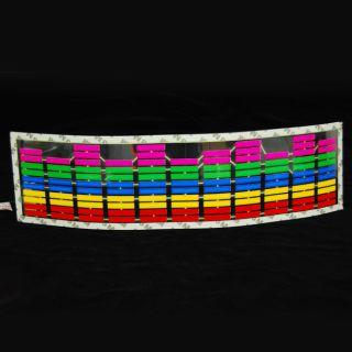 Colourful Car Music Rhythm LED Flash Lamp Sticker Sound Decor Equalizer Light