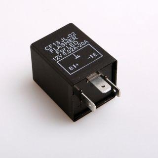 New 12V 3 Pin Car Flasher Relay to Fix LED Bulbs Ligh Lights Blink Flash CF13