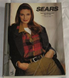 1992  Roebuck Catalog Fall Winter 1641 pgs Electronic Games Tools Clothing