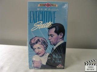 Executive Suite VHS William Holden June Allyson Barbara Stanwyck 027616140036