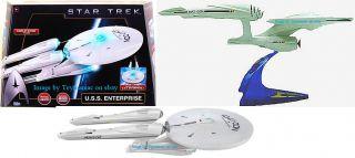 Star Trek USS Enterprise NCC 1701 2009 Movie Playmates Electronic Lights Sounds