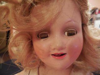 "Vintage 1940s Original Madame Alexander Sonja Henie Doll 13 5"" Wendy Ann"