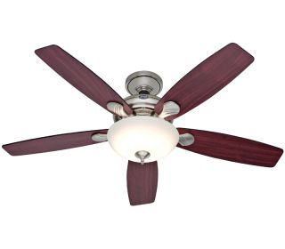 "Hunter 52"" Eco Air Brushed Nickel Ceiling Fan 25120"