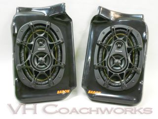 67 68 69 70 71 72 Chevy Truck Rear Speaker Enclosures Kicker 6x9 Speakers C10