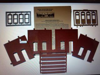 DPM Street Level Rectangle Entry HO Scale Building Kit Model Trains 30131