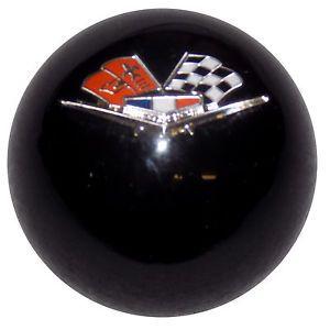 Chevy Impala Flags Black Custom Shifter Knob Chevrolet Flags Impala Chevy