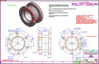 Allison Duramax 1000 T1000 NP205 Adapter Plate Plans