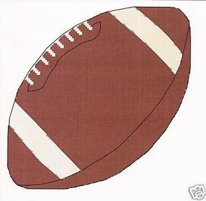 Football Cross Stitch Pattern Counted