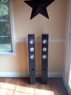 Pair of Genesis Floor Standing Speakers Genesis Media Labs G 608 Digital Series