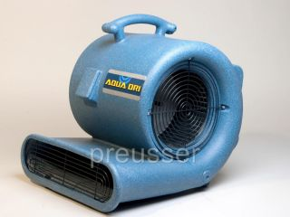 Edic 2400 CFM 1 2 HP Air Mover Blower Fan Carpet Dryer