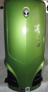 Alienware Area 51 Full Tower Metallic Cyborg Green Computer Case 1 5 Chassis