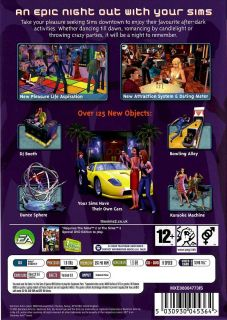 Brand New Computer PC Simulation Video Game Sims 2 Nightlife Expansion Pack 014633149708
