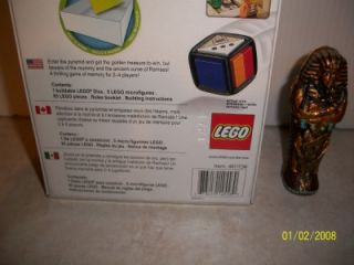 "King Tut Sarcophagus Mummy 4"" Figure Lego Ramses Return Pyramid Game 2 4 1"