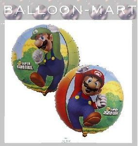 Pack of 5 Super Mario Birthday Party Balloons New Decorations Video Game Theme