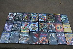 Big Lot 24 Nintendo GameCube Games Mario Party 5 7 Metroid Sonic The Incredibles