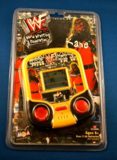 WWF Kane Wrestling MGA Electronic Handheld Video LCD Game Toy Wrestle Figure