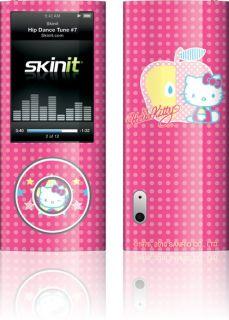 Skinit Hello Kitty Polka Dots Apple Skin for iPod Nano 5g Video
