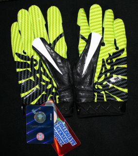 Nike Oregon Ducks 2011 Pro Combat Rivalry Gloves XL RARE