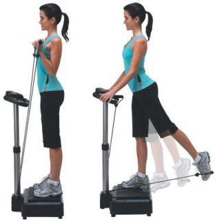 Power Body Vibe Chi Vitality Shaking Massager Vibration Machine Step Exerciser