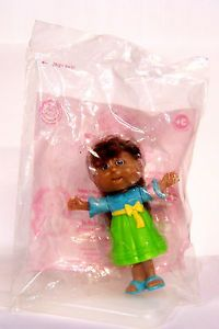 "New SEALED Cabbage Patch Kids Minis Doll Figure Figurine 4"" Burger King 2007"