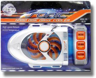 "EverCool ""Sonic"" Bullet Train Style Hard Drive Cooler"