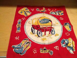 Vintage Campbell Kids Western Handkerchieff Bandana by AMSCO Toys – 1950'S