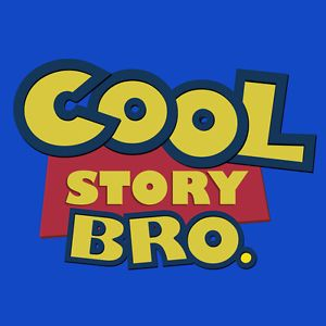 Stabilitees Funny Cool Story Bro Pixar Toy Story Mens Ladies Kids T Shirts