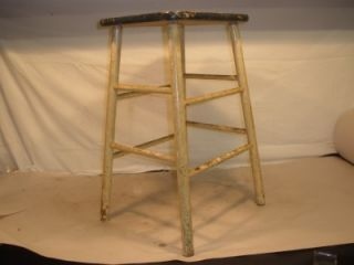 Marvelous Antique Vintage Primitive Childs Kitchen Stool Bench Chair Caraccident5 Cool Chair Designs And Ideas Caraccident5Info