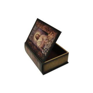 Keystone Intertrade Inc. Jesus Painting Design Book Box
