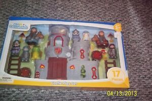 17 PC Kid Connection Castle Playset Action Figure Toys Combine Shipping