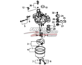Honda HS1132 HS 3320 Snowblower Snow Blower Carburetor Carb 16100 ZE3 H61 New