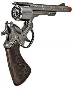 Metal Replica Holster Set Revolver Pistol Toy Cap Gun Billy The Kid Civil War