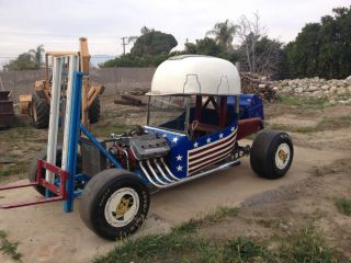 Hard Hat Hauler George Barris Custom Famous Collectors Car T Bucket Rat Rod