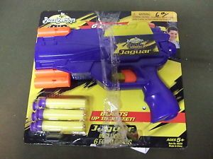 Buzz Bee Toys Air Warriors Jaguar Nerf Guns for Kids Toy Dart Gun New