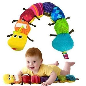 Hot Baby Infant Kids Lamaze Musical Inchworm Soft Developmental Lovely Baby Toy