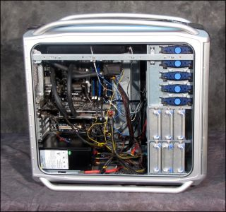 Cooler Master Cosmos 1000 Water Cooled ATX PC with Core 2 Motherboard