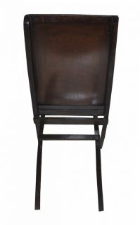 Indian Antique Wooden Chair Hand Painted Decorative Folding Wood Chairs Vintage