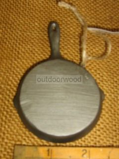 Iron Skillet Frying Pan Fresh Fish Ornament Midwest of Cannon Falls